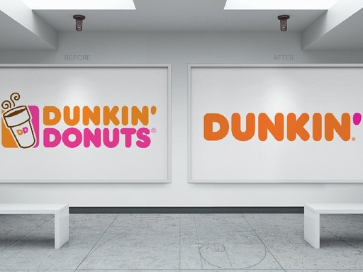 Before & after Dunkin´