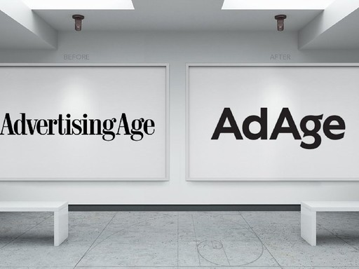 Before & after AdAge